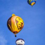 Heißluftballons während der Bristol Balloon Fiesta