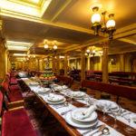Speisesaal im Museumsschiff Brunel's SS Great Britain