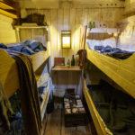 Eine Kajüte im Museumsschiff Brunel's SS Great Britain