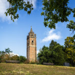 Der Cabot Tower im Brandon Hill Park in Bristol