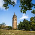 Der Cabot Tower im Brandon Hill Park in Bristol