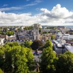 Ausblick vom Cabot Tower auf Bristol
