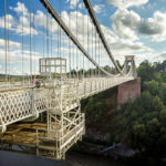 Die Clifton Suspension Bridge in Bristol