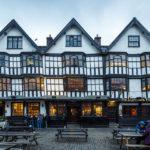 Das Llandoger Trow, ältestes Pub in Bristol