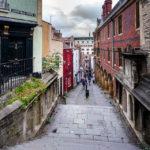 Die Christmas Steps in der Altstadt (Old City) von Bristol