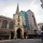 St John's Church in der Altstadt (Old City) von Bristol