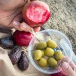 Äpfel, Oliven und Feigen aus dem Bioladen Reg The Veg