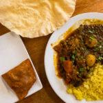 Indisches Curry bei Spice Up Your Life auf dem Saint Nicholas Market