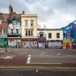 Street Art im Viertel Stoke's Croft in Bristol