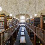 Die Library (Bibliothek) in Wills Memorial Building in Bristol
