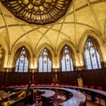 Die Council Chamber in Wills Memorial Building in Bristol