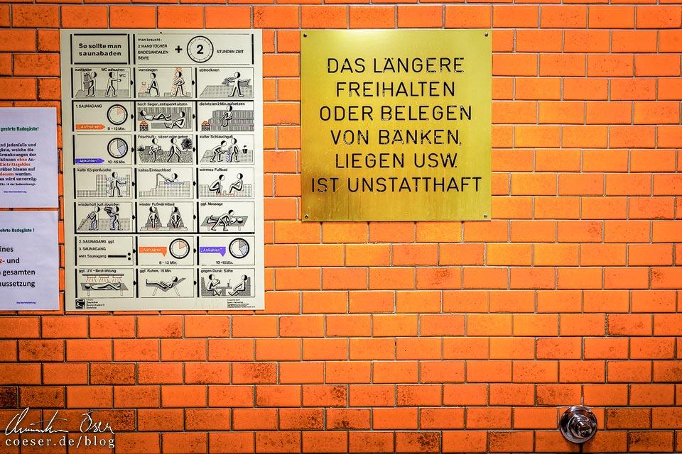 Saunabereich im Jörgerbad in Wien