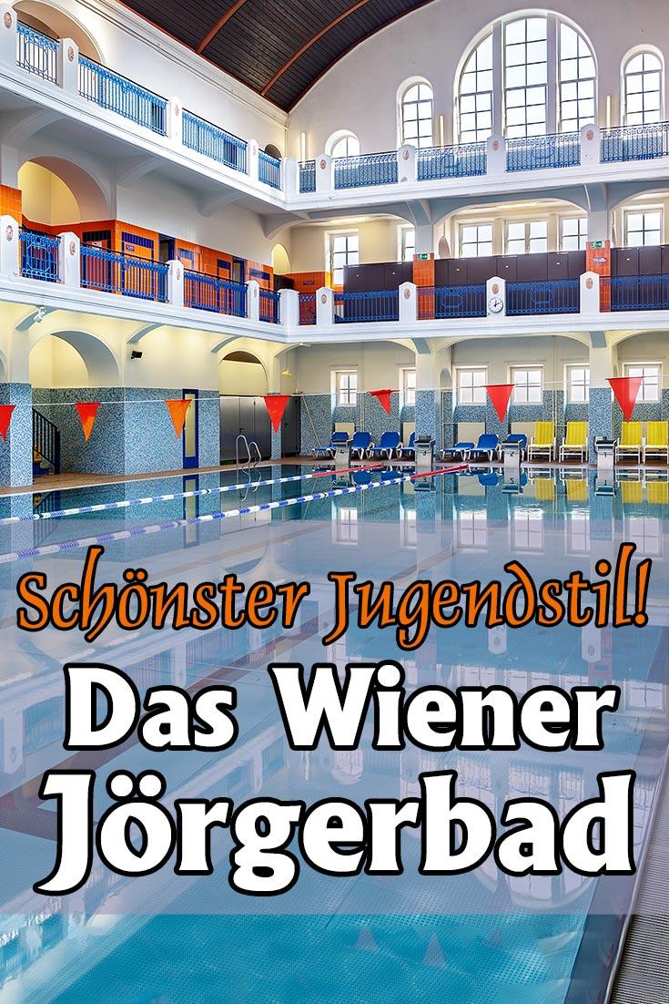 Jörgerbad in Wien: Architektonischer Einblick mit Fotos der großen Schwimmhalle, der Jugendstil-Ausstattung und weiteren Eindrücken.