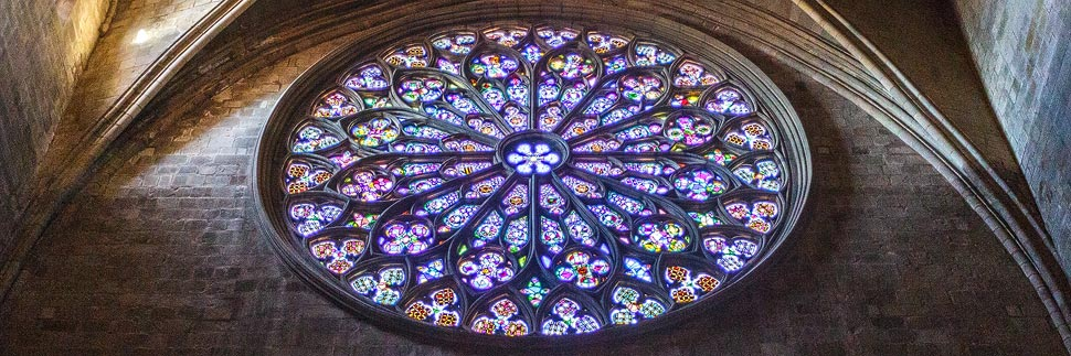 Basílica de Santa Maria del Pi in Barcelona