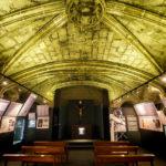 Krypta in der Kirche Basílica de Santa Maria del Pi in Barcelona