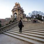 Der Brunnen Cascada Monumental im Parc de la Ciutadella in Barcelona