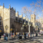 Bethlehem-Kirche an der Flaniermeile La Rambla in Barcelona