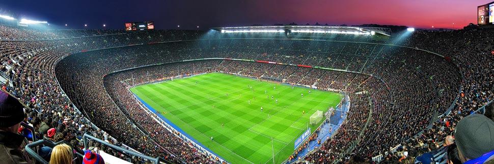 Stadion Camp Nou des FC Barcelona