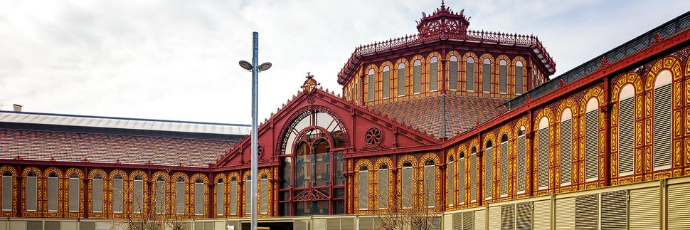 Mercat de Sant Antoni in Barcelona