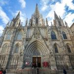 Außenansicht der Kathedrale von Barcelona
