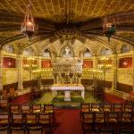 Die Krypta in der Kathedrale von Barcelona