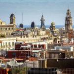 Ausblick auf Barcelona vom Dach der Kathedrale