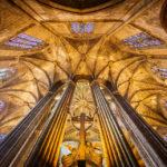 Innenansicht der Kathedrale von Barcelona