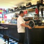 Das Lokal La Cuina d'en Garriga Enric Granados in Barcelona