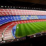 Panorama des Stadions Camp Nou des FC Barcelona