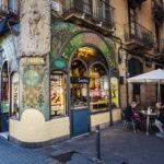 Jugendstilfassade der Pastisseria Escribà