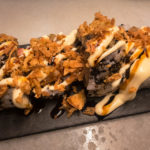 King Prawns Uramaki im Tapas-Lokal Bar del Pla in Barcelona