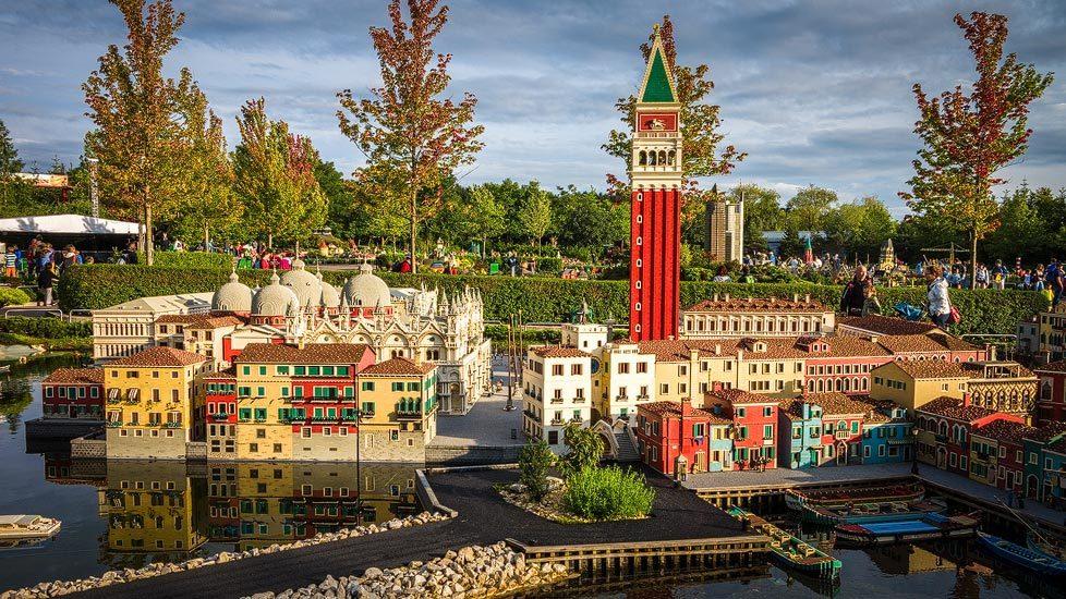 Venedig-Abschnitt im Legoland Deutschland Resort