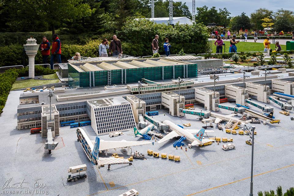 Der Flughafen München im Legoland Deutschland Resort in Günzburg