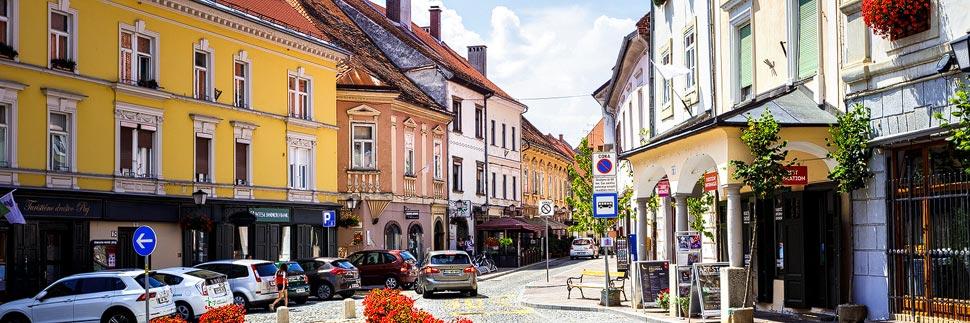 Innenstadt von Ptuj