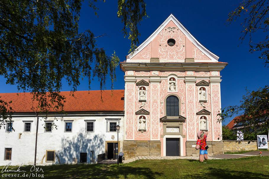 Rokokofassade des Dominikanerklosters in Ptuj