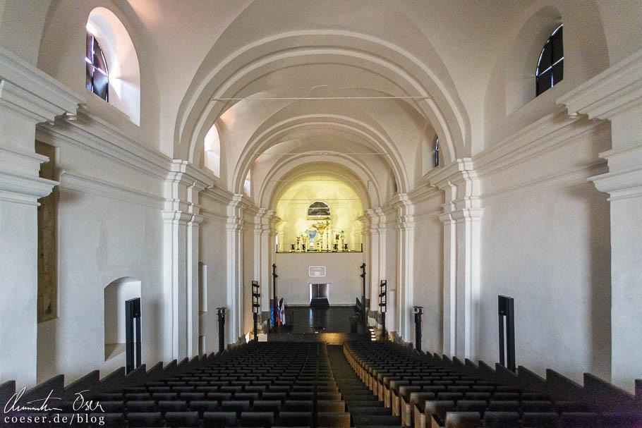 Kirchenschiff im Dominikanerkloster in Ptuj