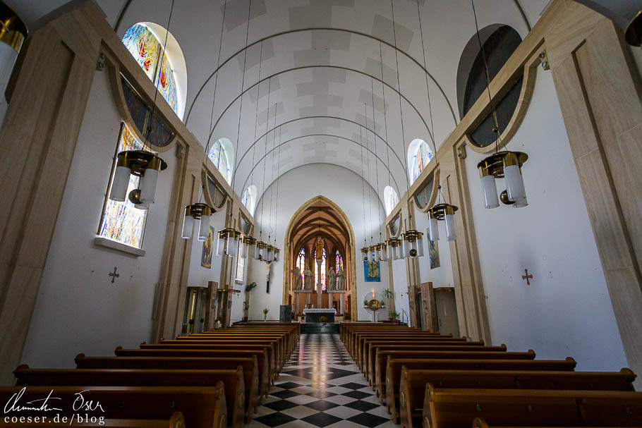 Die Kirche im Minoritenkloster in Ptuj