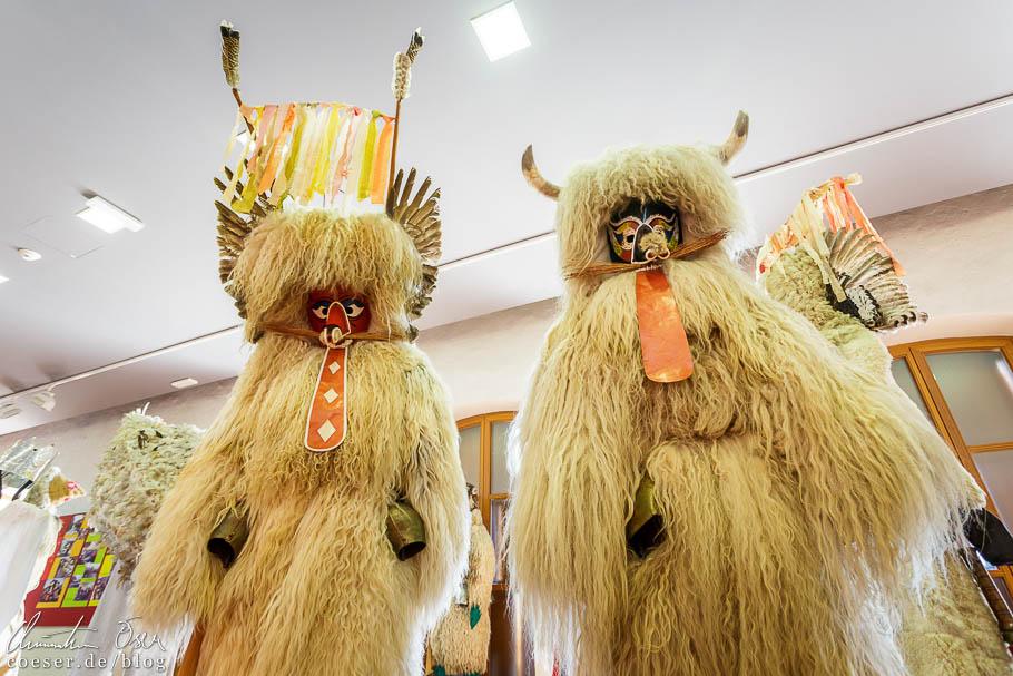 "Ausstellung zum Frühlingsfest ""Kurentovanje"" im Schloss von Ptuj"