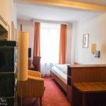 Einzelzimmer im Hotel Mayrbräu in Braunau