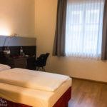Einzelzimmer im Hotel Schwarzer Bär in Linz