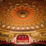 Panorama des Konzertsaals im Athenäum in Bukarest