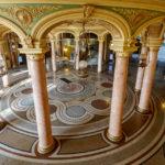 Die Eingangshalle des Athenäums in Bukarest