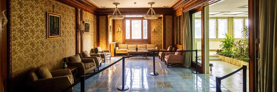 Wohnzimmer in der Casa Ceauşescu in Bukarest