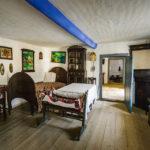"""Historisches Haus im Freilichtmuseum """"Dimitrie Gusti"""" in Bukarest"""