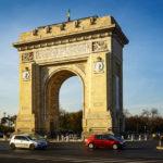 Der Trimuphbogen von Bukarest