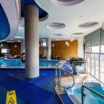 Das Schwimmbad im Hotel Intercontinental in Bukarest