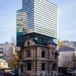 Alte und neue Gebäude werden in Bukarest zu einem kombiniert