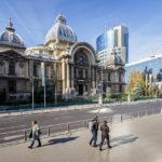 Das Bankgebäude Palatul CEC in Bukarest