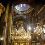 Innenansicht der Kirche Biserica Buna Vestire in Bukarest
