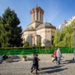 Außenansicht der Kirche Biserica Buna Vestire in Bukarest